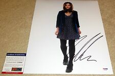 Jenna-Louise Coleman Signed 11x14 Doctor Who Clara Souffle Girl PSA/DNA
