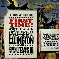 Count Basie & Duke Ellington:  First Time - CD Limited Edition Japan