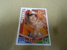 Carte catch Slam Attax Mayen 2010 Rouge - John Cena