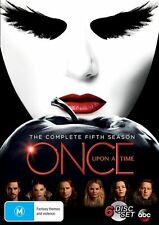 Once Upon a Time: Season 5 - Ralph Hemecker NEW R4 DVD