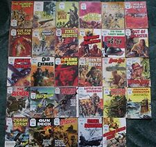 29 X BATTLE PICTURE LIBRARY WAR COMICS,JOB LOT COLLECTION,1971-1984