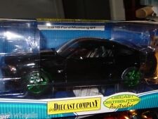Greenlight 2010 FORD MUSTANG GT GREEN MACHINE #37 -Black, NICE!!