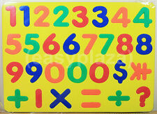 EDUCATIONAL MATHEMATICS NUMBERS LEARNING PUZZLE (YELLOW) FOR CHILDS KID FAMILY