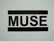 1 x Muse Sticker - Vinyl Decal Guitar Band Music Car Window Bumper Ski Laptop