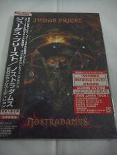 JUDAS PRIEST-Nostradamus JAPAN 1st.Press w/OBI 2CD 1999 LIMITTED BOOK EDITION