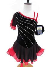 SALE Figure Ice Skating Dance Baton -Costume Dress Girls Child M