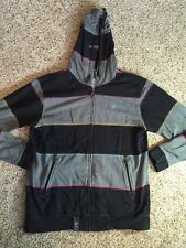 Mens LRG Lifted Research Group Multi Color full zip hoodie jacket Sz Large Kd1