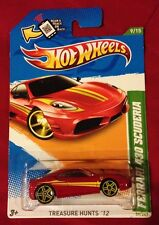 2012 Hot Wheels HTF Ferrari 430 Scuderia TREASURE HUNT - Super Fast Shipping