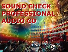 Sound check cd controllo del suono impianti audio hifi e auto autoradio casse