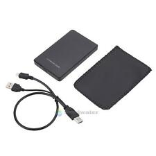 Portable 2.5 Inch USB 2.0 IDE External Hard Drive Enclosure Case Box for Laptop