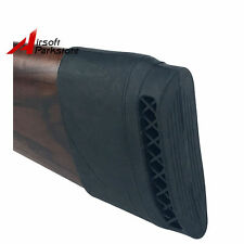 Rifle Shotgun Slip on Recoil Pad Butt Gun Accessories Protector Stock Rubber BK