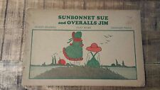 SUNBONNET SUE AND OVERALLS JIM - Silent Reader w/Pictures To Color 1928