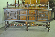 OAK SIDEBOARD - BUFFET Circa 1900-1920