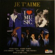 I love Music-Je t'aime Kool & The Gang, Andy Gibb, Dana, Jane Birkin & Se.. [CD]