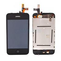 Black for iPhone 3GS LCD Touch Screen Digitizer Glass Assembly Replacement HK