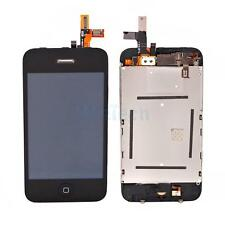 LCD Touch Screen Digitizer Glass Assembly Replacement HK Black for iPhone 3GS
