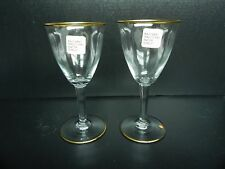 BACCARAT DIRECTOIRE 2 TALL WATER GOBLETS