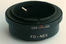Canon FD Lens to Sony E Mount Adapter for NEX NEX-5R NEX-6 NEX-7 FD-NEX