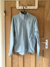 "North Face Blue Flight Series Pullover Jacket Size M AtoA20"" L26"" *C1"