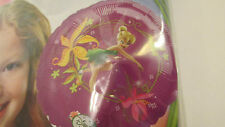 "Disney Fairies Tinkerbell 3 EZ Fill No Helium Foil Balloons ~ 9"" Sticks Included"