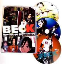 Beck Mongolian Chop Squad The Complete Series - Anime DVD - 3 Discs Set -English