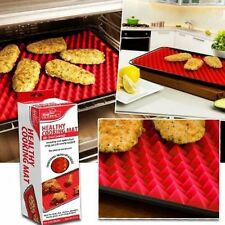 Pyramids Pan Non Stick Fat Reducing Silicone Cooking Mat Oven Baking Tray Sheet