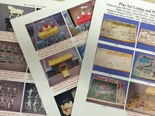 Marx Medieval Castle Knights and Vikings Playset Guide w/ Pictures