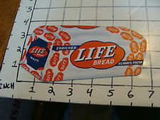 Vintage Paper: LIFE BREAD in the shape of a loaf blotter