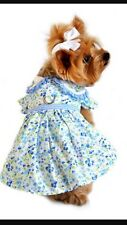 NEW!!! Size Small-  Blue Belle Dog Dress Harness - Doggie Resign