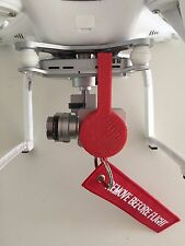 DJI Phantom 3 Professional Gimbal Lock Camera Guard Lens Protector Flight Tag