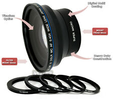 FISHEYE 0.43X LENS FOR CANON 52MM 55MM 58MM 62MM 72MM