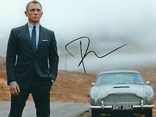 DANIEL CRAIG SIGNED SKYFALL ASTON MARTIN DB5 JAMES BOND 10x8 PHOTO - UACC RD