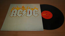 AC/DC Cold Hearted Man Australian Pressing LP Vinyl Record Alberts Red Label OOP