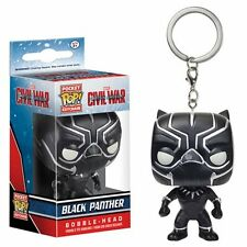 FUNKO Captain America: Civil War Black Panther Pocket Pop! Key Chain