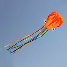 4M Single Line Stunt Red Octopus Power Sport Flying Kite Outdoor Activity Toy WK