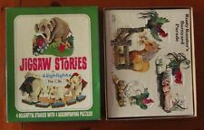 HIGHLIGHTS MAGAZINE Jigsaw Stories 1970 frame tray Aloysius & Baby Jumbo