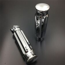 "Billet Aluminum 1"" Handlebar Grips For XL/ 883/ 1200/ Forty Eight/ Street Glide"