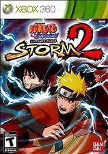 Naruto Ultimate Ninja Storm 2 For Xbox 360 Fighting  EUC