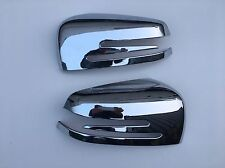 MERCEDES GLK 260-300,CHROME ABS DOOR MIRROR COVER'S,2008-15.