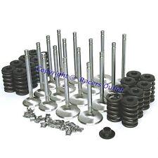 """Elgin Z28 Springs, 2.02"""" & 1.6"""" Stainless Steel Valves sb Chevy 400 350 327"""