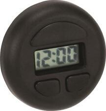 Stick-On Round Digital Clock Also displays date Hook & loop mounting tape