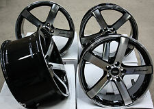"18"" CRUIZE BLADE BLACK POLISHED CONCAVE STAGGERED BIG BRAKE 18 INCH ALLOY WHEELS"