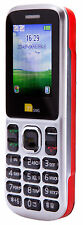Ttsims tt130 dual sim téléphone mobile-Rouge Vodafone Big Bundle payg cheap new