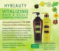 HYBEAUTY VITALIZING HAIR SCALP SHAMPOO AND CONDITIONER NATURAL HERBAL + TRACK