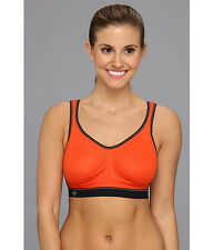 ANITA AIR CONTROL SOFT CUP SPORTS RUN BRA SPICY ORANGE #5533 SIZE 36 B NEW! $67