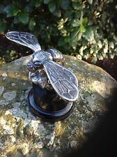 LA GUEPPE THE WASP MOTOR CAR MASCOT HOOD ORNAMENT - FRANCE - c.1914 SIGNED  RARE