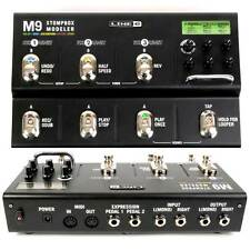 NEW Line 6 M9 Stompbox Guitar Modeler Multi Effects Delay Reverb Interface