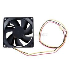 80mm 25mm New Case Fan 12V DC 67CFM Ball Brg 2 Pin PC Computer Cooling L17