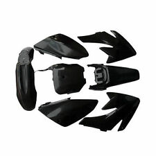 Fairing Plastic Body Kit Fenders Panel For 70cc Honda CRF70 Dirt Pit Bikes Black