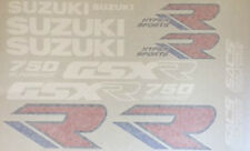 SUZUKI GSXR750 GSXR750L RESTORATION DECAL SET 1988-89